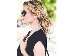 Your Entire Week Of Hair, Courtesy Of Pinterest via @byrdiebeauty // I love the idea of a double side braid