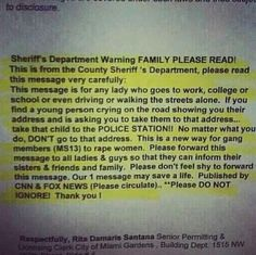 Everyone read this! So scary!!