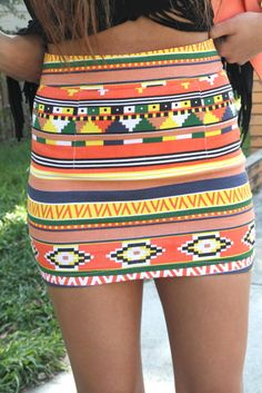 this skirt screams SUMMER