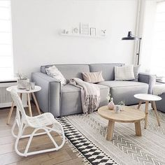 The bright livingroom of @morethanliving_nl with our Merlijn sofa and Rhonda coffeetable. #woood #livingroom #sofa #coffeetable #sidetable #woonkamer #madeinholland