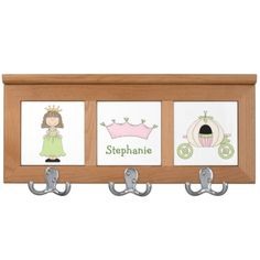 Girl's Princess Custom Coat Rack