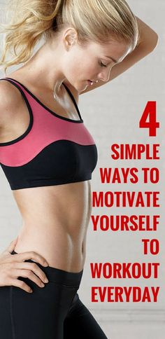 How do you motivate yourself to workout each and every day? #fitness #health #workout