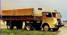 Ciągnik siodłowy z naczepą o ładowności 6000 kg. Roads, Techno, Classic Cars, Trucks, Vehicles, Vintage, Historia, Road Routes, Vintage Classic Cars