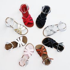 You are officially invited to go WILD. You can never have enough colors of these sandals. It's a fact!