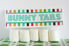 Bunny Tails Easter