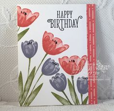 Tranquil Tulips Open House Card!