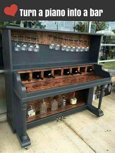 Piano turned bar