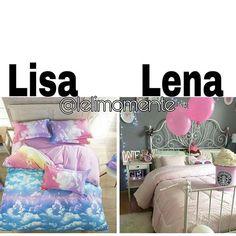 Lisa or Lena? Subject: Bed My Choice: Lisa