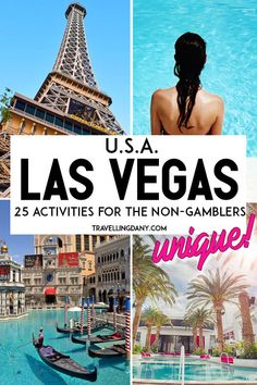 Ultimate guide to the best 25 things to do in Las Vegas (USA) besides gambling! It includes info on the Las Vegas monorail, the House of Blues Las Vegas, the Las Vegas Motor Speedway, plus some amazing family fun. Features free and paid attractions! Usa Roadtrip, Travel Usa, Canada Travel, Hawaii Travel, Italy Travel, Las Vegas Usa, Las Vegas Vacation, Free Las Vegas, Vegas Getaway