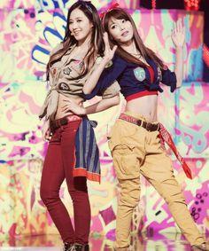 Yuri and Sooyoung // I Got A Boy WHERES TIFFAN jk. :))