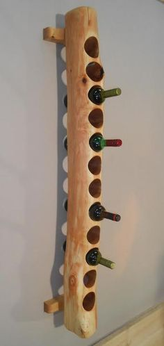 wine rack by Woodengold