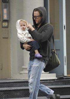 Heath and daughter Matilda