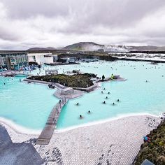 Blue Lagoon Thermal Spa in Iceland