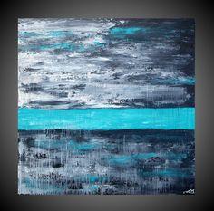 Black, grey, white, aqua/turquoise