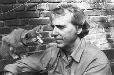 Don Delillo and cat.