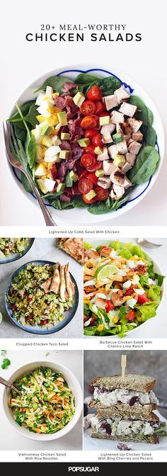 Get the recipes: meal-worthy chicken salads