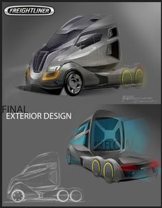 Freightliner Names Concept Truck Design Winner