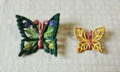 Farfalle in ceramica.