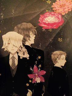 Break, Gilbert et Reim - Pandora Hearts