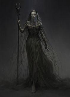 ArtStation - witch, qingkai yang