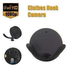 Mini 1080P HD Spy DVR Hidden Wall Hook Camera Video Recorder Security Cam B L G