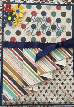 Drapery+fold+birthday+card - Scrapbook.com
