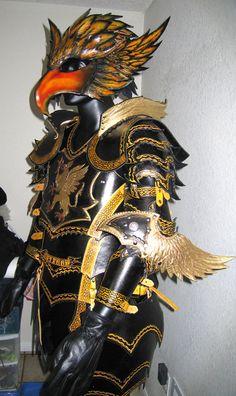 Gryphon Leather Armor 07 by *Azmal on deviantART
