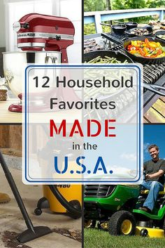 These household favorites are all made in the USA. More reasons than ever to buy American! Crafts To Sell, Selling Crafts, American Manufacturing, Bob Vila, Vintage Bowls, Bee Art, Things To Buy, Stuff To Buy, Home Economics
