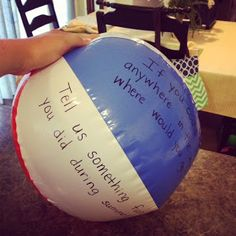 For the Love of Teaching: Monday Made It {Beach Ball Activity & Math About Me}