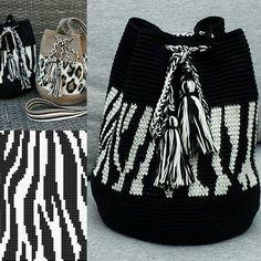 Mochila zebra www.kralentik.nl