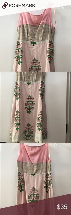 Anthropology dress Comfortable dress. Length is just above the knee. make me a reasonable offer. Dresses Mini