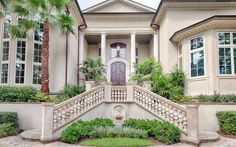 Mediterranean blend of styles - Hilton Head Island, South Carolina