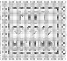 Babsy design YNKA ( you`ll never knit alone ): BRANN supporter GRATIS mønster