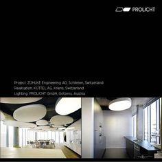 Project: Zühlke Engineering AG, Schlieren, Switzerland  Realisation: Küttel Teppiche AG, Kriens, Switzerland  Lighting: PROLICHT GmbH, Götzens, Austria  #prolicht #prolichtprojects Lighting Design, Rugs, Light Design