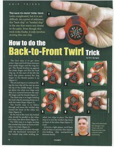 Impress everyone by learning a poker chip trick.