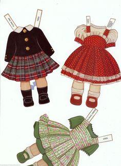 Madame Alexander Wendy Ann Paper Dolls with 10 Fashions & Accessories | eBay