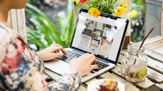 Buy Woman is using computer laptop by Rawpixel on PhotoDune. Woman is using computer laptop Used Computers, Laptop Computers, Computer Laptop, Computer Photo, Social Media Images, Business Events, Creative Illustration, Papers Co, Wordpress Plugins