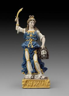 Judith (with the head of Holofernes), Italian (Florence), Giovanni della Robbia, first quarter of the 16th century Glazed terracotta