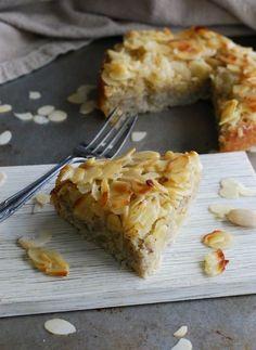 Toscakaka med päron, glutenfri, utan tillsatt socker //Baka Sockerfritt