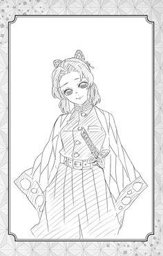 Demon Slayer, Slayer Anime, Chica Anime Manga, Anime Art, Bleach Anime, Manga Drawing, Anime Shows, Anime Demon, Magical Girl