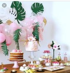 27 Ideas for birthday party flamingo dessert tables Idee Baby Shower, Flamingo Baby Shower, Flamingo Birthday, Girl Birthday, Cake Birthday, Pink Flamingo Party, Surprise Birthday, Summer Birthday, Dessert Table Birthday