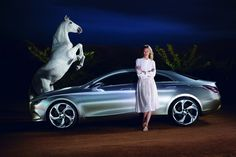Karlie Kloss in Chloe - Concept Style Coupè by Mercedes Benz