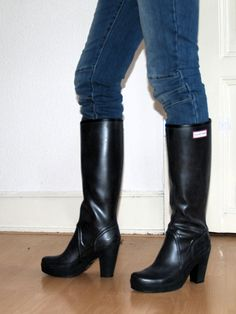 hunter lapins 4 in 2019  stiefel  boots shoe boots und