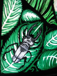 Stained glass beetle | Pinkie Maclure