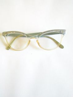 a756b7398a RESERVED for LISA 50 s Vintage Aluminum Powder Blue   Silver Etched Cat Eyeglass  Frames  Mid Century Eyewear  Retro