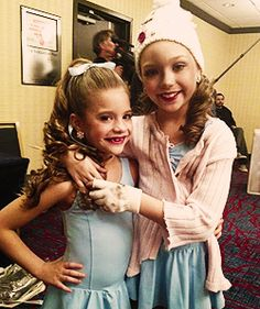"""Sisters Mackenzie and Maddie Ziegler in their costumes for """"Trapped"""""""
