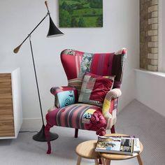 modern interior design with classic furniture