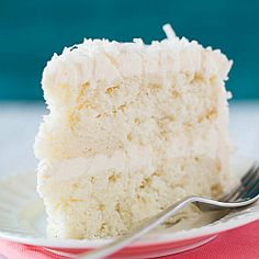 Coconut-Vanilla Bean Cake with Coconut Meringue Buttercream Frosting | Recipe from Flour