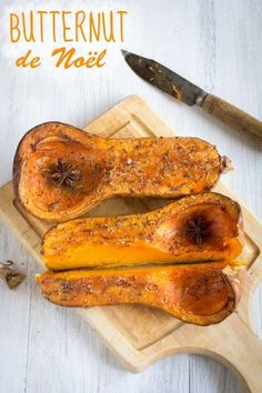 Christmas butternut - roasted with spices - inspired by Jamie Oliver, Special Recipes, Great Recipes, Healthy Recipes, Healthy Food, Food Porn, Vegetarian Menu, Xmas Food, Easy Cooking, Vegetable Recipes