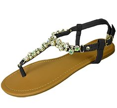 48241f172 Black Rhinestone Thong Sandals + FREE SHIPPING. Women s Shoes SandalsFlat  Gladiator SandalsBlack RhinestoneSummer ShoesT StrapIridescentFree ...